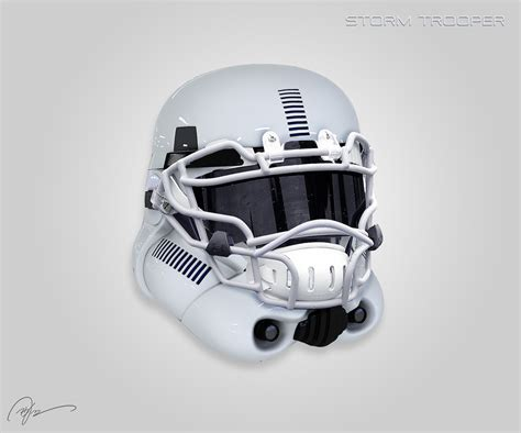 design helmet star wars star wars football helmets sci fi design