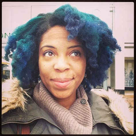 african anerican manic panic manic panic in voodoo blue and ultraviolet on 4c natural