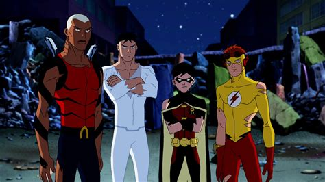 justicia joven imagenes hd young justice season 1 eps 1 2 tv show review