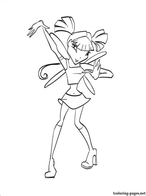 winx club doodle coloring musa pages musa winx for to color musa winx free coloring