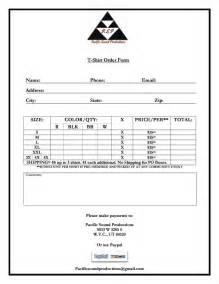 t shirt order form template free malama haloa o utah t shirt design and order form