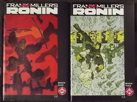 Ronin The Deluxe Edition By Frank Miller Graphic Novel Ebook ronin 1983 s 1 2 3 4 5 6 complete frank miller set silver age comics