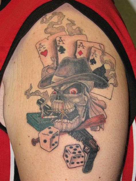 30 best dice tattoo designs to try with