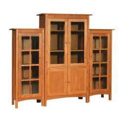 Wall Bookcase With Doors Three Wall Unit Solid Wood Bookcases 6 Large Glass Doors Bookcase Wall Outlet Small