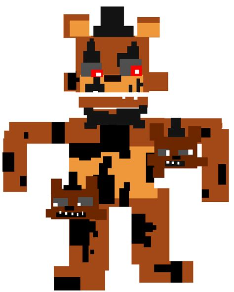 fnaf 2 mini game tumblr minigame style nightmare freddy by dizzee toaster on