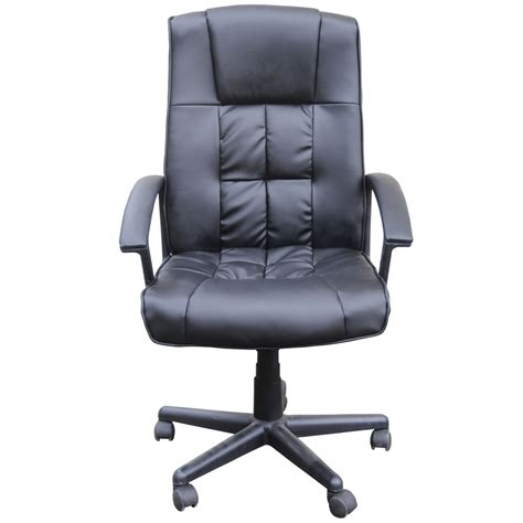 Wheeled Computer Desk Homegear Deluxe Wheeled Computer Desk Chair Home Office Chair Ebay
