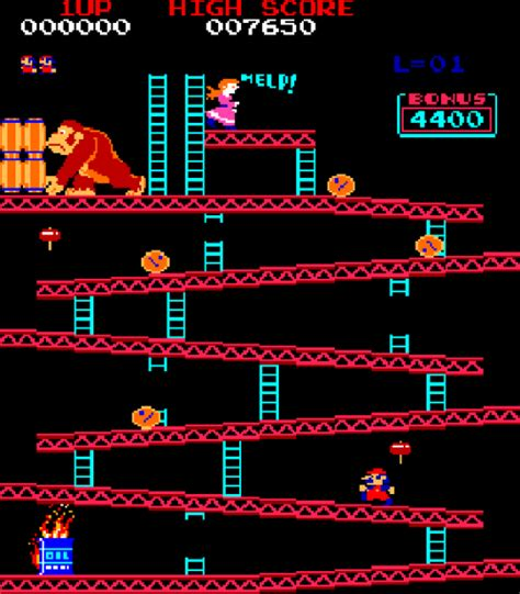 design  fine nintendo donkey kong arcade game