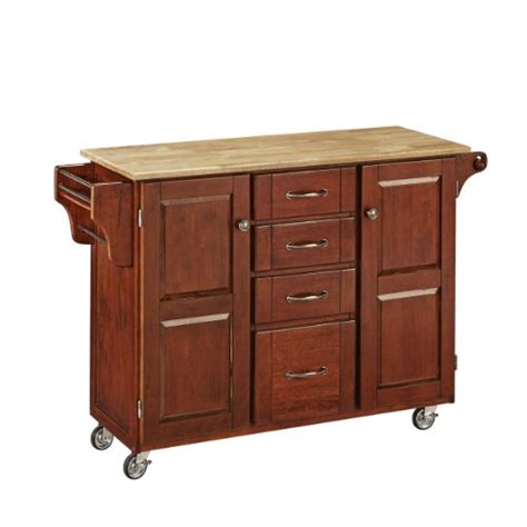 home styles create a cart natural kitchen cart with quartz home styles 9100 1071 create a cart 9100 series cabinet