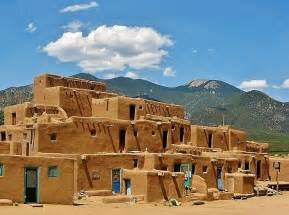 Adobe Pueblo Houses by 403 Forbidden