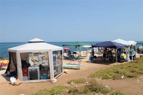 gazebo spiaggia foto gazebo sulla spiaggia a san giorgio i controlli dei