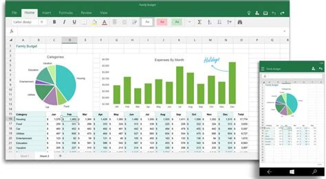 Spreadsheet Mobile by Windows 10 Office Apps No Longer In Preview News