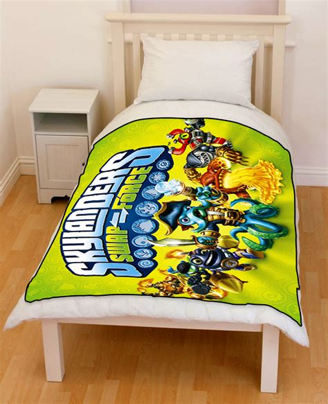 skylanders bedding skylanders swap force bedding throw fleece blanket