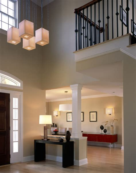 Contemporary Foyer Contemporary Foyer Contemporary New York By