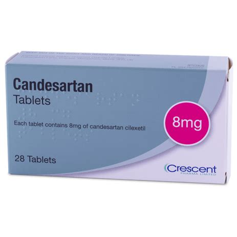Candesartan Cilexetil 8 Mg 30 S candesartan 8 mg tablets crescent pharma