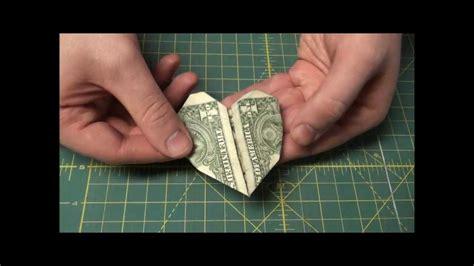 Easy Origami With Dollar Bills - dollar bill origami easy origami tutorial paper