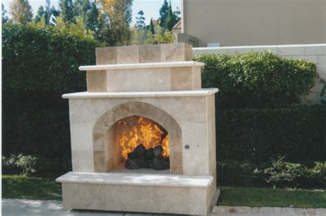 modern custom fireplace design in orange county california