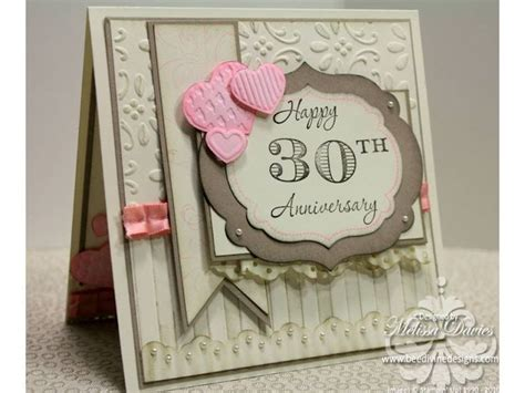 anniversary gifts for 30th wedding anniversary pin by cora nieuwboer on anniversary wedding cards