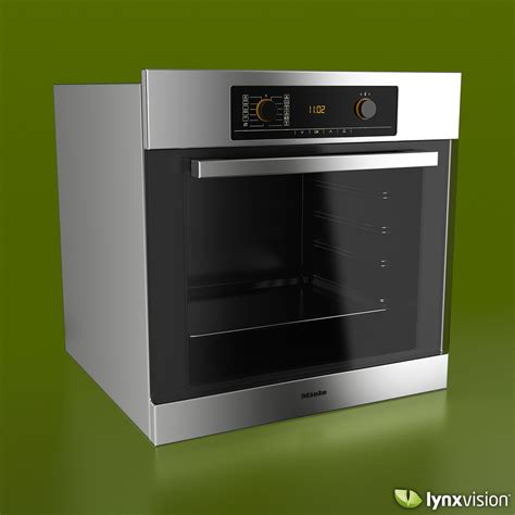 kitchen appliance electric stove 3d model cgtrader com miele single electric oven 3d model max obj fbx