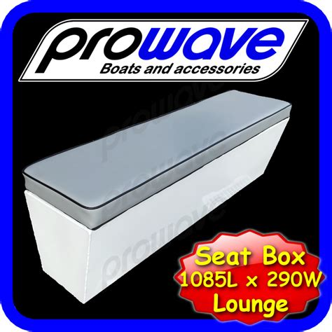 Pro Pedestal Aluminium Boat Seat Box In Stock Ready To Ship Side