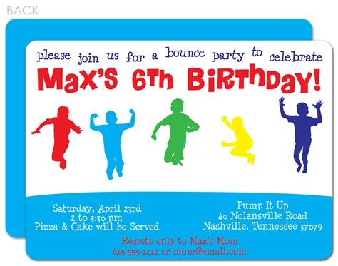 8 best images of boys birthday party invitations printable