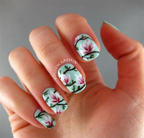 nail style 2015 beautiful pictures with flower nail designs yve style com
