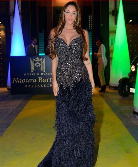 Nabilla Dress By Wearing Klamby nabilla benattia wearing rami kadi couture gown to