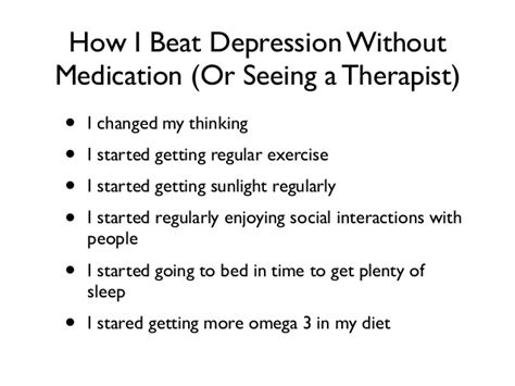 how to get a therapy for depression treatment for depression