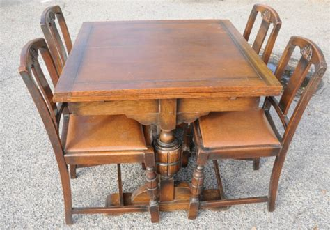 draw leaf table and chairs draw leaf table and four chairs dining suites antique