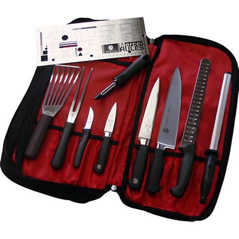 mercer knife kit jwu culinary kit johnson wales