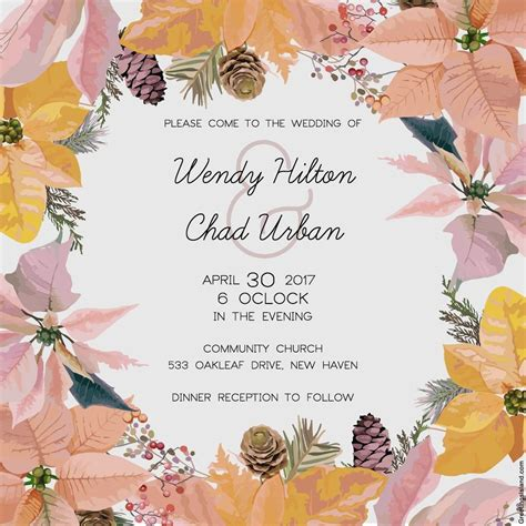 Free Wedding Invitations Printable Cards by Free Printable Wedding Invitations Popsugar Smart Living