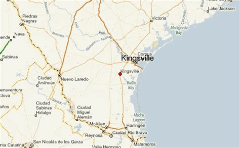 kingsville texas map kingsville location guide