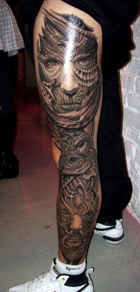 full leg tattoos for men sleeve 3d tattoos for theonlinecentral