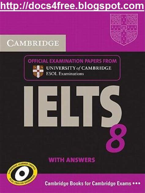 The Official Cambridge Guide To Ielts Audio Listening docs4free cambridge ielts 8 book and audio