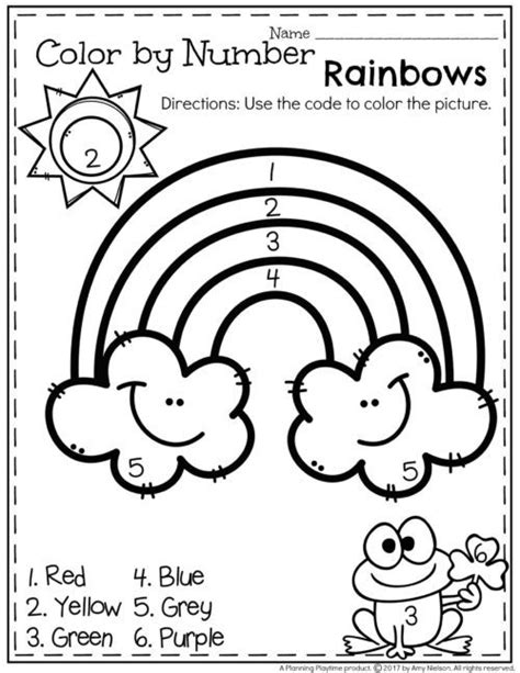 color by number preschool best 25 color by numbers ideas on