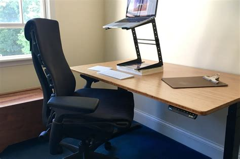 jarvis bamboo standing desk loud ones six month review of the herman miller embody