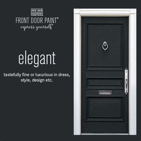 how to paint a front door black front door modern masters cafe