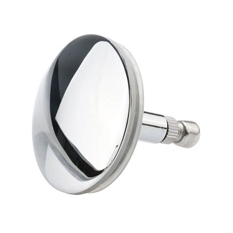 how to plug your bathtub drain chrome bathtub basin drain stopper plug bathroom bath plug