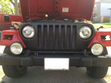 jeep plasti dip plasti dipping a jeep grille