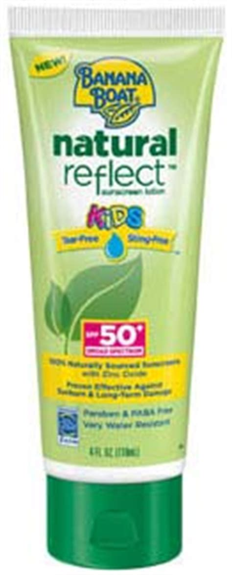banana boat sensitive ingredients banana boat natural reflect kids sunscreen