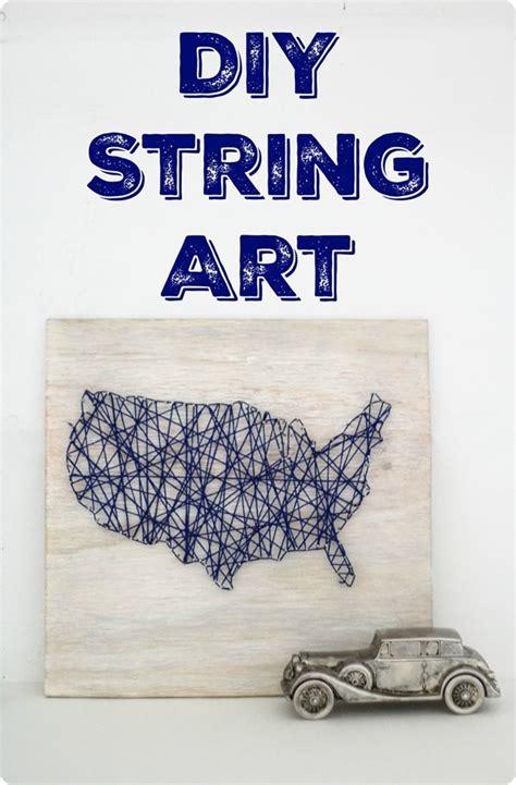 Diy String Map - diy map string lovely etc