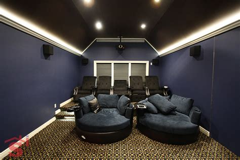 Decorative Bathrooms Ideas by Home Theater Traditional Home Theater New York By