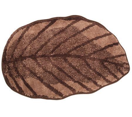teppich blatt casa fondo mikrofaser teppich blatt form ca 60x90cm