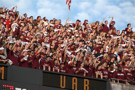 kyle field student section the kyle field project glen vigus