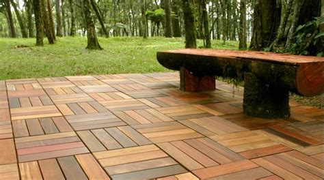 Wood Patio Flooring by 5 Tips When Buying Wood Patio Tiles Landscapers Talk