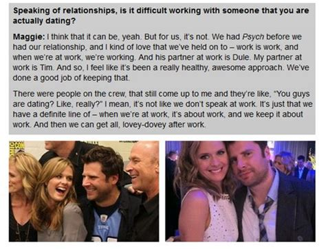 james roday and maggie lawson 2015 quotes by maggie lawson like success