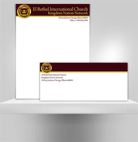 church letterhead examples