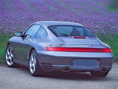 2002 porsche 911 4s 2002 porsche 911 4s blue rear angle flower