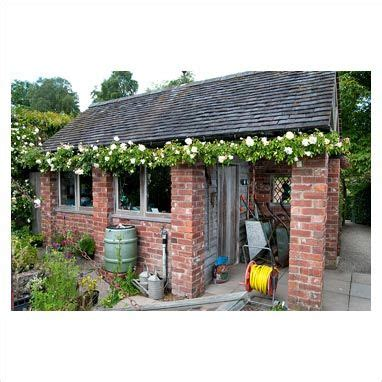 brick shed or playhouse garden wishes