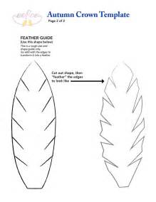 feather template felt feather template for our fantastic eeboo fall crown