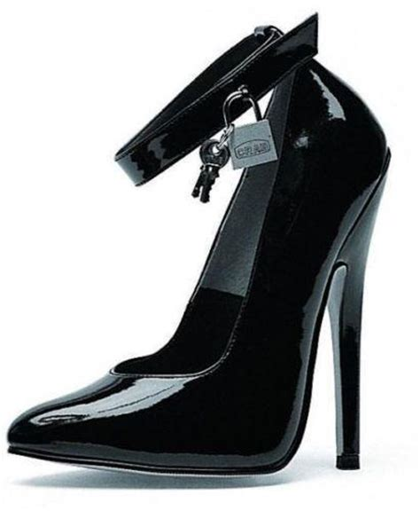 locked high heels locking high heels ebay